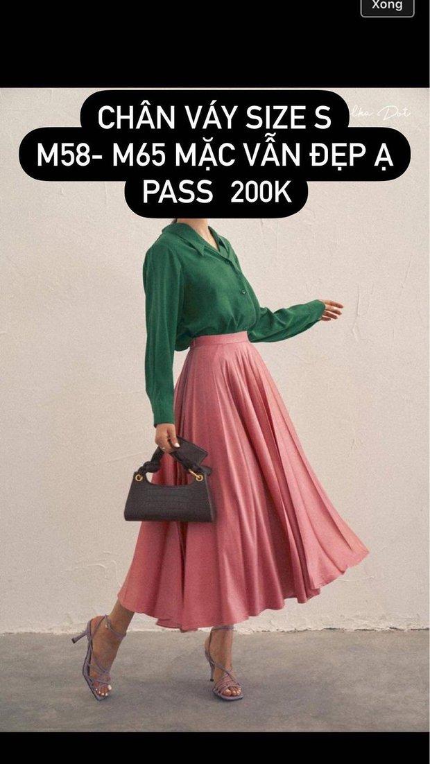 Hòa Minzy tiếp tục pass đồ, cực nhiều váy xinh giá chỉ từ 200K chị em thừa sức múc - Ảnh 2.