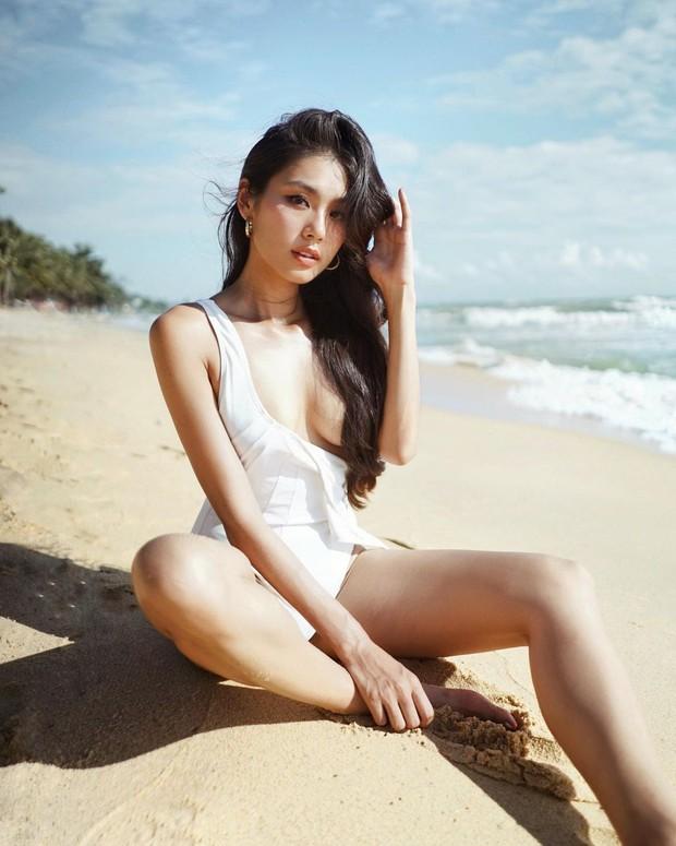 Cùng diện bikini nhưng độ sexy của Thảo Nhi Lê bây giờ tăng lên level cao quá - Ảnh 3.