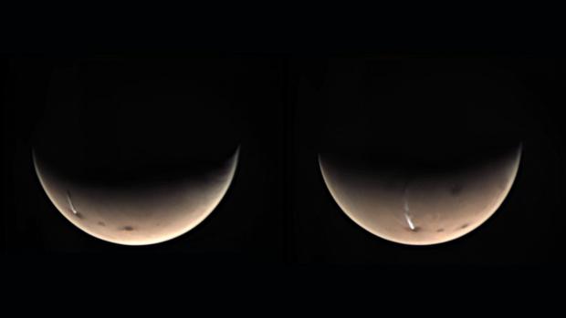 Sáng tỏ bí ẩn đám mây khổng lồ dài 1.800km trên sao Hỏa - Ảnh 1.