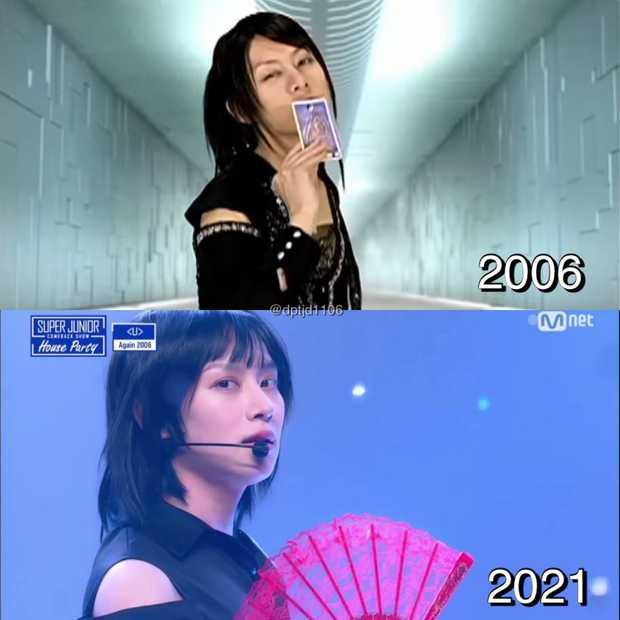 Sốc với visual 15 năm không đổi của Heechul (SUJU), quảng bá bài hit huyền thoại làm 8x và 9x bồi hồi nhưng chưa chắc Gen Z đã biết - Ảnh 5.