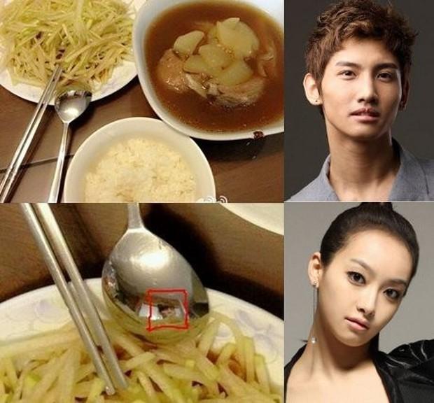 Sau chiếc thìa huyền thoại, đến... cái ly phản chiếu chi tiết hint hẹn hò của Park Min Young - Park Seo Joon - Ảnh 6.