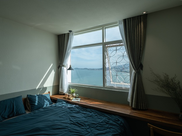 Gia đình trẻ cải tạo lại căn hộ trên tầng 39, biến ban công thành khoảng sân nhỏ ngắm trọn view sông núi - Ảnh 7.