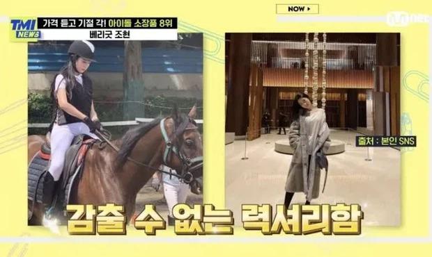 6 tiểu thư ngậm thìa vàng ẩn thân trong Kpop: TWICE có tận 2 thành viên quý tộc, sốc nhất idol lộ gia thế qua hộp giấy 20 triệu - Ảnh 12.