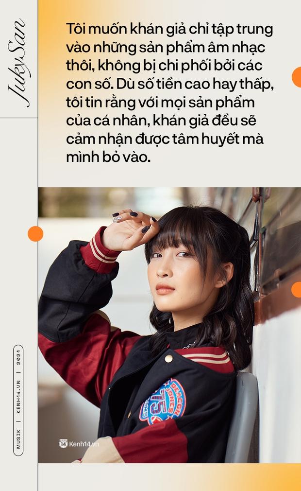 Juky San: Tôi liều và độc đoán nữa, tôi sẽ là một nàng thơ cá tính và mạnh mẽ! - Ảnh 10.