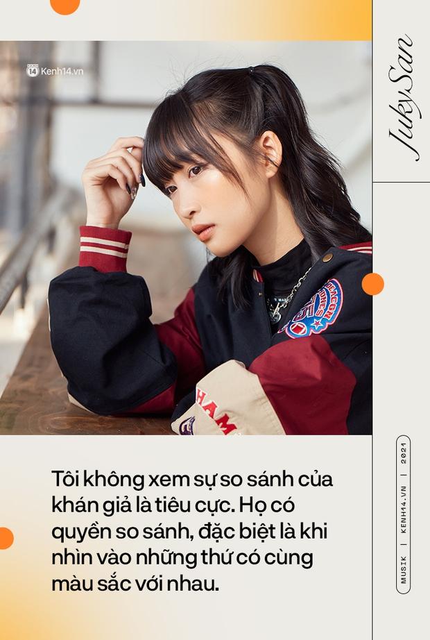 Juky San: Tôi liều và độc đoán nữa, tôi sẽ là một nàng thơ cá tính và mạnh mẽ! - Ảnh 14.