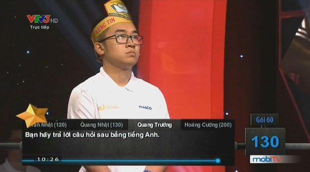 Dân mạng ném đá thí sinh Olympia cười đểu đối thủ, Á quân Việt Hoàng lên tiếng: Anh không thích cách em thể hiện trên sân khấu - Ảnh 5.