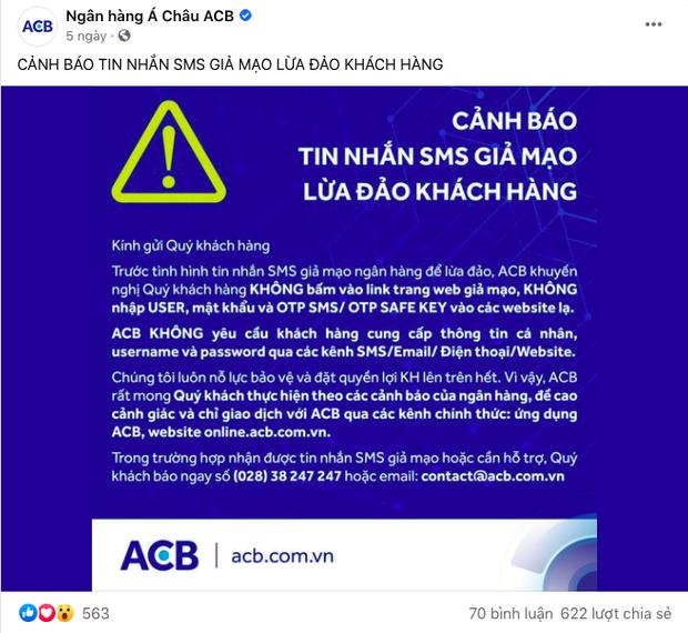Hàng loạt ngân hàng lên tiếng cảnh báo về chiêu trò lừa đảo qua tin nhắn - Ảnh 4.