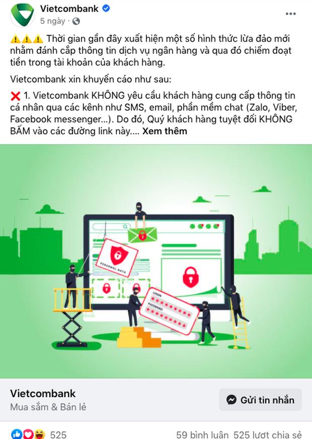Hàng loạt ngân hàng lên tiếng cảnh báo về chiêu trò lừa đảo qua tin nhắn - Ảnh 8.