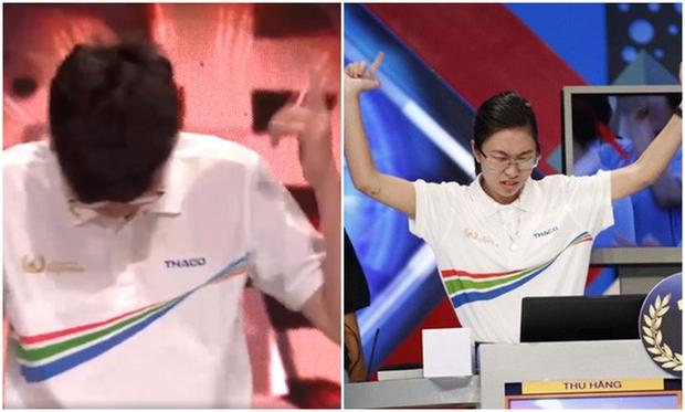 Dân mạng ném đá thí sinh Olympia cười đểu đối thủ, Á quân Việt Hoàng lên tiếng: Anh không thích cách em thể hiện trên sân khấu - Ảnh 2.