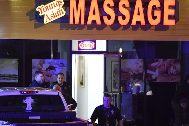 Xả súng liên tiếp tại Atlanta (Mỹ), 8 người thiệt mạng, 1 nghi phạm bị bắt giữ - Ảnh 1.