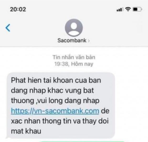 Hàng loạt ngân hàng lên tiếng cảnh báo về chiêu trò lừa đảo qua tin nhắn - Ảnh 2.