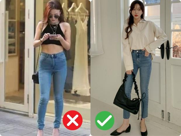 Phụ nữ thích style thanh lịch sẽ chẳng mặc 4 kiểu quần jeans này! - Ảnh 1.