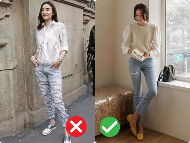 Phụ nữ thích style thanh lịch sẽ chẳng mặc 4 kiểu quần jeans này! - Ảnh 2.