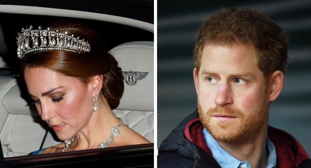 Harry từng khiến chị dâu Kate bật khóc tại lễ cưới với Hoàng tử William, nhìn lại mối quan hệ chị dâu - em chồng ai cũng tiếc nuối - Ảnh 1.