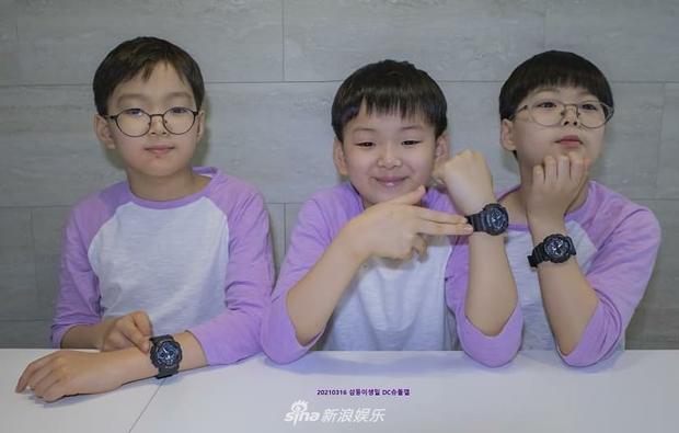 Ảnh sinh nhật 9 tuổi của Daehan - Manse - Minguk gây bất ngờ: Ba hoàng tử bé khoe chân siêu dài, visual khác hẳn ngày trước - Ảnh 12.
