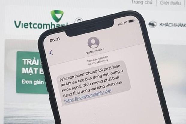 Hàng loạt ngân hàng lên tiếng cảnh báo về chiêu trò lừa đảo qua tin nhắn - Ảnh 1.