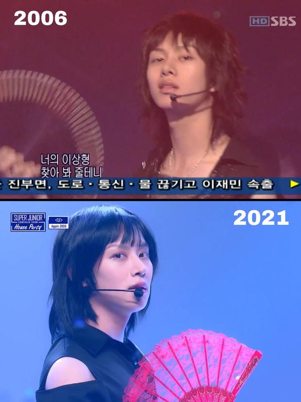 Super Junior không hề giả trân khi tái hiện màn nhận giải cho hit U năm 2006! - Ảnh 4.