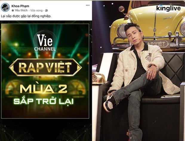 Rap Việt sắp trở lại: 1 HLV tung hint sẽ comeback ghế nóng, netizen thắc mắc có Thành Cry với nghệ sĩ hài Rhymastic, JustaTee khum? - Ảnh 5.