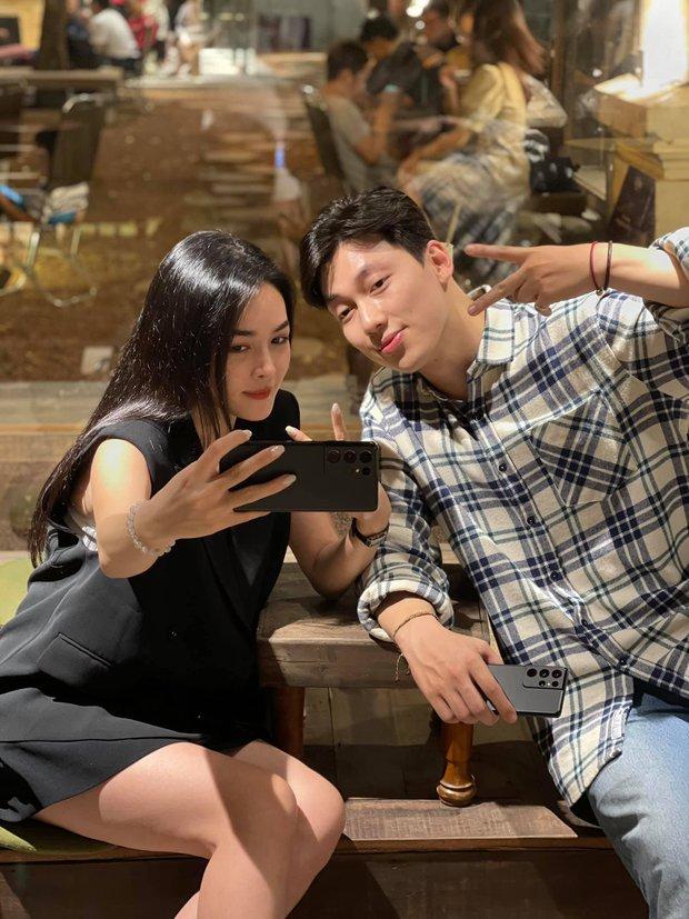 Hot girl thẩm mỹ Vũ Thanh Quỳnh tái ngộ Alan Phạm sau 1 năm kết đôi ở Người Ấy Là Ai mùa 3 - Ảnh 3.