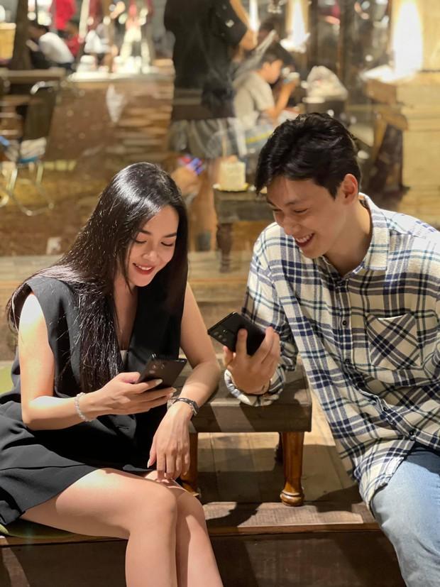 Hot girl thẩm mỹ Vũ Thanh Quỳnh tái ngộ Alan Phạm sau 1 năm kết đôi ở Người Ấy Là Ai mùa 3 - Ảnh 4.