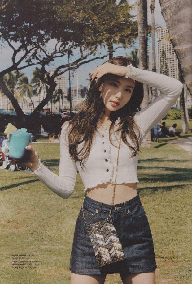 Đến lúc TWICE bỏ được mác mặc đồ hiệu như đồ chợ, tất cả là nhờ bộ ảnh lột xác 180 độ sexy của chị cả Nayeon - Ảnh 9.