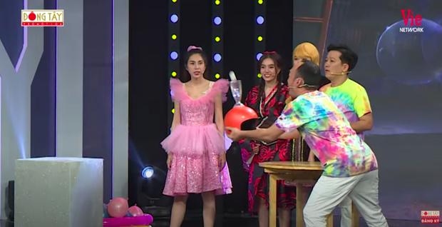 Như chưa hề có drama: Thuỷ Tiên vô tư chạm mặt Lan Ngọc tại gameshow sau scandal liếc xéo hất tóc - Ảnh 6.