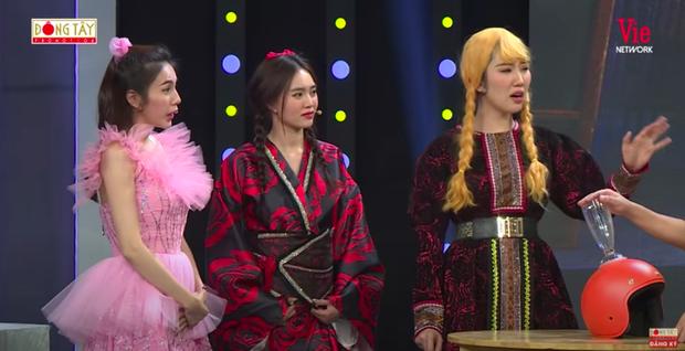 Như chưa hề có drama: Thuỷ Tiên vô tư chạm mặt Lan Ngọc tại gameshow sau scandal liếc xéo hất tóc - Ảnh 5.