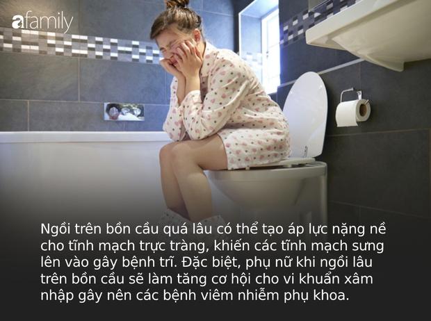5 sai lầm mà mọi người hay mắc phải nhất khi đi vệ sinh có thể khiến cơ thể bị tổn thương, mắc trọng bệnh - Ảnh 1.