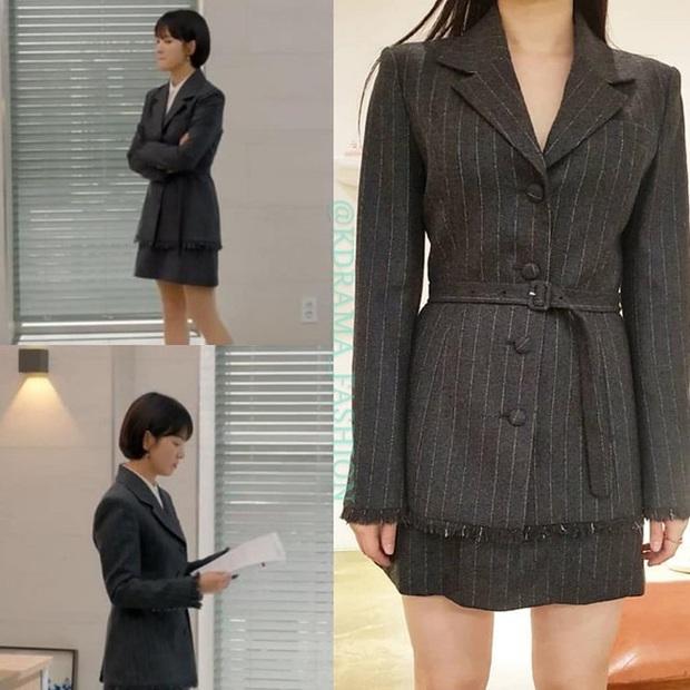 Song Hye Kyo diện blazer không bao giờ fail, sương sương cũng có 13 cách mặc trẻ và sang tuyệt đối - Ảnh 4.