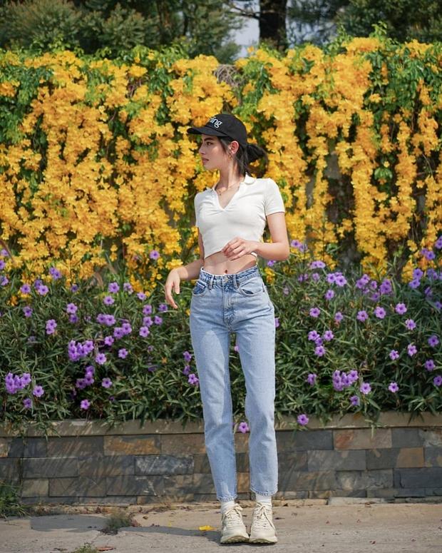 """""""Nữ hoàng crop top"""" chính là Mai Davika: Vừa khoe eo hoàn hảo không mỡ thừa, vừa nữ tính trẻ trung nhìn phát mê - Ảnh 7."""