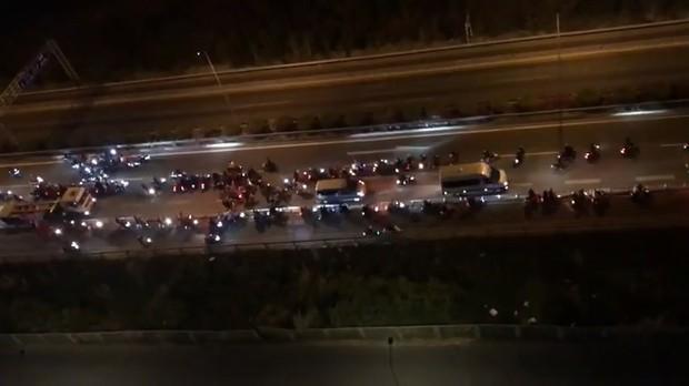 """Khoảng 70 """"quái xế"""" chặn đường, đua xe trên cao tốc TP.HCM - Long Thành - Dầu Giây khiến người dân khiếp sợ - Ảnh 3."""