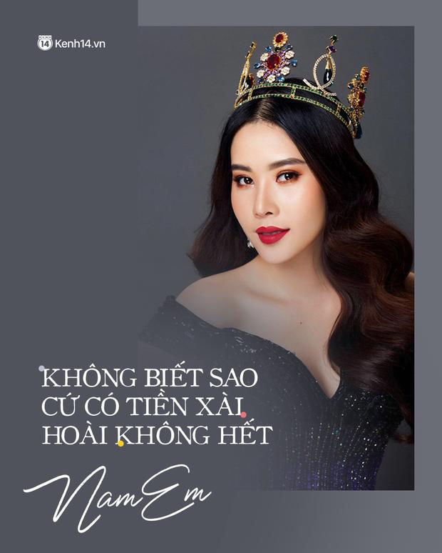 Cái khó của Nam Anh và Nam Em khi thi Hoa hậu Hoàn Vũ Việt Nam 2021 - Ảnh 2.