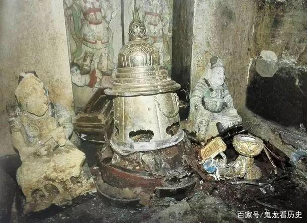 Bậc thang trũng giúp phát hiện cung điện lòng đất bị phong ấn 1.000 năm dưới ngôi chùa cổ: Kho báu chấn động Trung Quốc! - Ảnh 3.