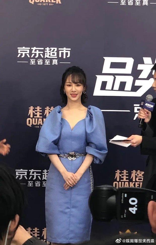Dương Tử lần đầu xuất hiện sau scandal tiêm toàn thân thu gọn body, nhan sắc gây thất vọng toàn tập - Ảnh 4.