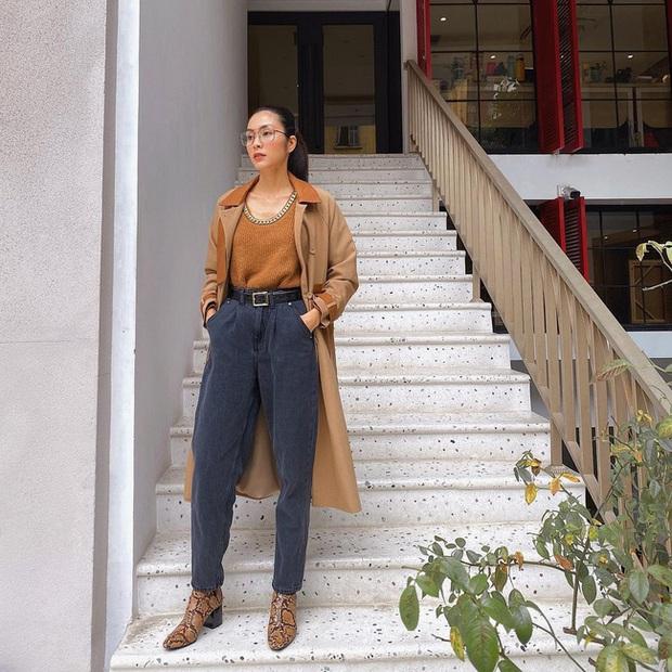 Bắt trend kém như Hà Tăng: Kiểu áo sơ mi này hết mốt từ đời nào nhưng chị đẹp mặc vẫn sang bất chấp - Ảnh 4.