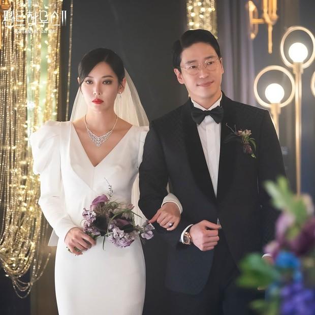 Ác nữ Penthouse Kim So Yeon gây bão trong ảnh đám cưới tối nay: Mặt như đâm lê nhưng nhan sắc đúng là mê chữ ê kéo dài - Ảnh 7.