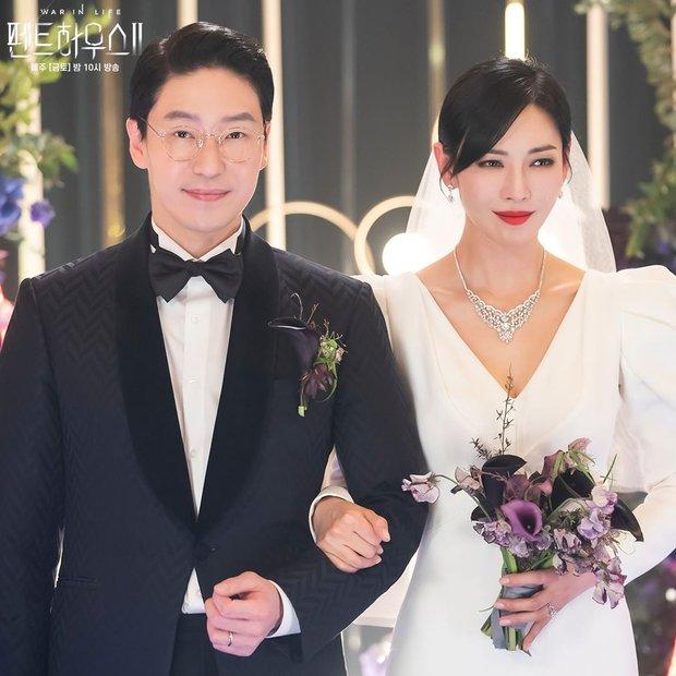 Ác nữ Penthouse Kim So Yeon gây bão trong ảnh đám cưới tối nay: Mặt như đâm lê nhưng nhan sắc đúng là mê chữ ê kéo dài - Ảnh 6.