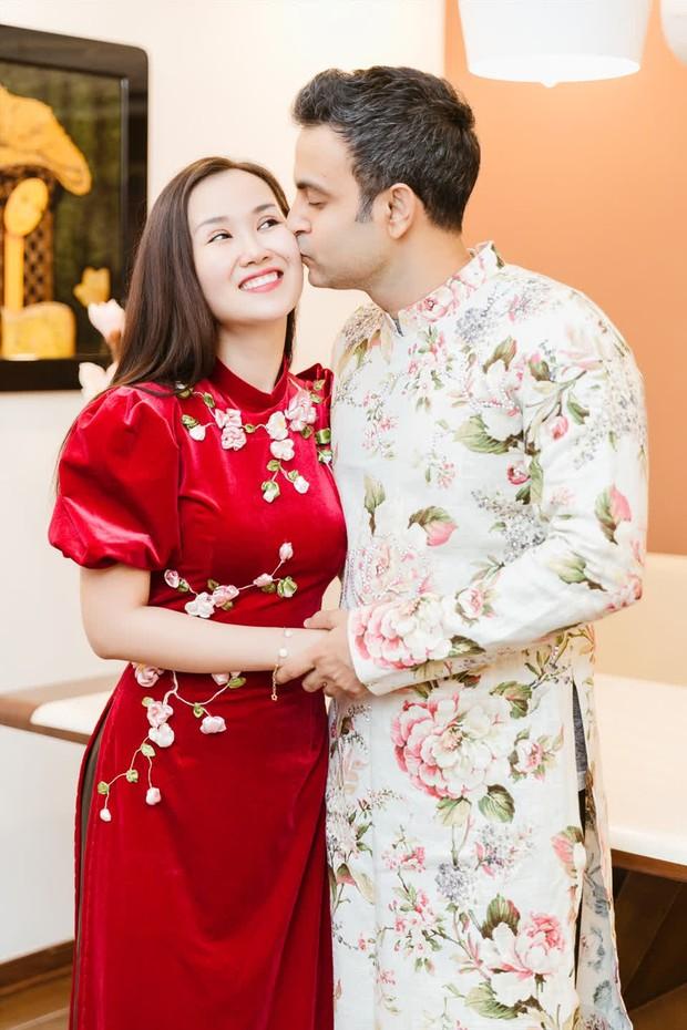 Võ Hạ Trâm khoe bụng bầu xác nhận mang thai con đầu lòng với chồng người Ấn Độ, Đoan Trang và dàn sao nô nức chúc mừng - Ảnh 8.