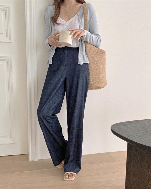 Làm mới loạt items cũ trong tủ đồ bằng 12 công thức mix&match xinh tươi, trendy của hội gái Hàn - Ảnh 8.