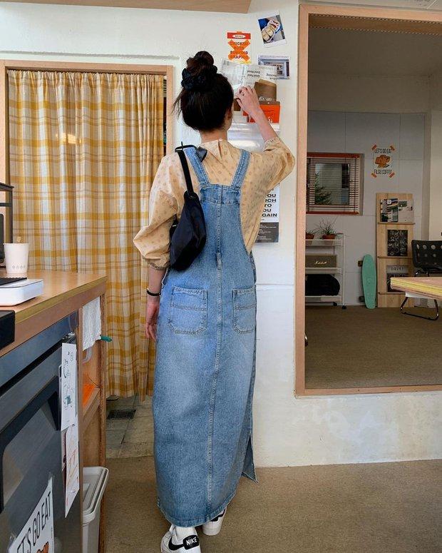 Làm mới loạt items cũ trong tủ đồ bằng 12 công thức mix&match xinh tươi, trendy của hội gái Hàn - Ảnh 5.