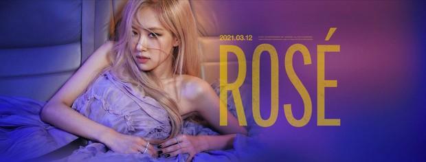 Netizen xỉu up xỉu down vì poster của Rosé: visual quá đỉnh nhưng ai cũng bị bắt lú tưởng sẽ solo vào ngày 12/3/2021 - Ảnh 2.