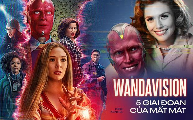 WandaVision lột tả hoàn hảo 5 giai đoạn tâm lý của mất mát thế nào trong 8 tập phim? - Ảnh 1.