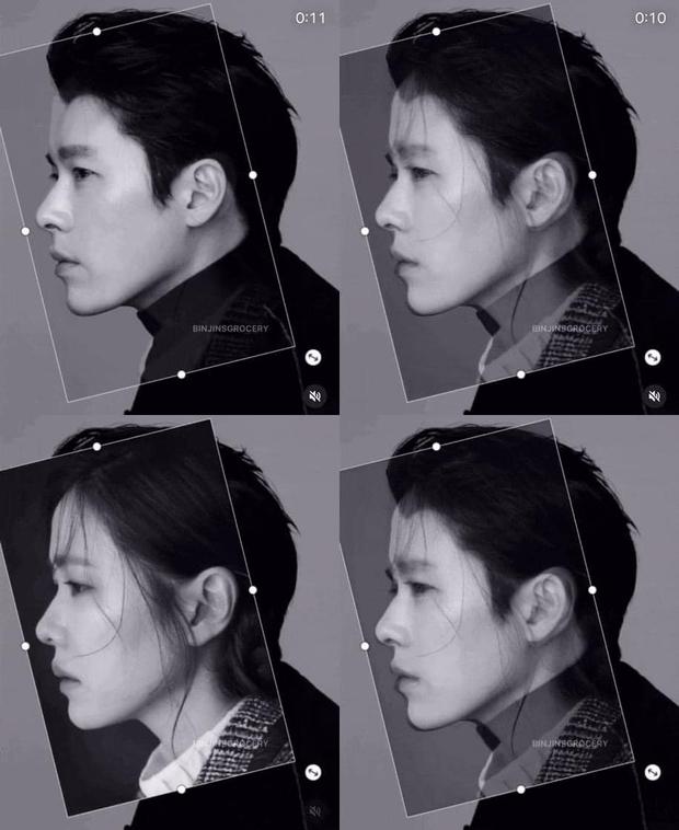 Chưa cặp đôi nào có tướng phu thê đỉnh như Hyun Bin - Son Ye Jin: Mặt khớp đến gần 100%, ảnh góc nghiêng gây choáng - Ảnh 5.