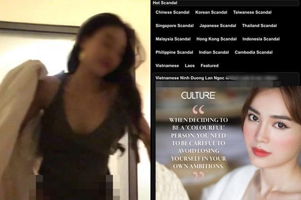 Phía Ninh Dương Lan Ngọc phản ứng thế nào trước nghi vấn lộ clip giường chiếu trên web đen? - Ảnh 3.