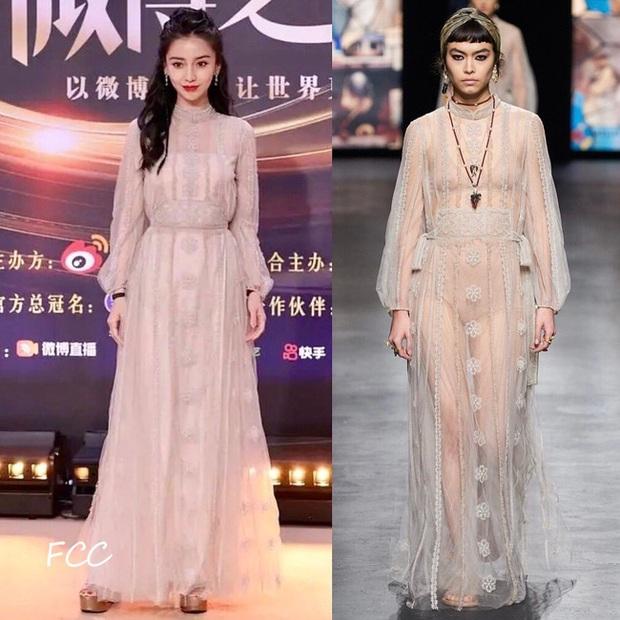 Loạt sao sửa váy tại Đêm Hội Weibo, tiếc thay cho Angela Baby bị chê kém sang hơn bản gốc vì không đeo thắt lưng - Ảnh 3.