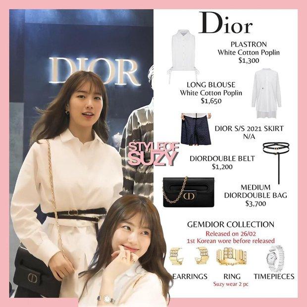 Vượt mặt Jisoo, Suzy mới là sao Hàn được Dior ưu ái đến độ đặc biệt độc nhất vô nhị như thế này - Ảnh 3.