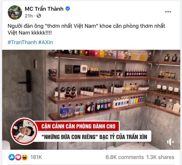 Trấn Thành tự nhận mình là người đàn ông thơm nhất Việt Nam, liên tục khoe phòng riêng chứa BST nước hoa hơn 200 chai - Ảnh 5.