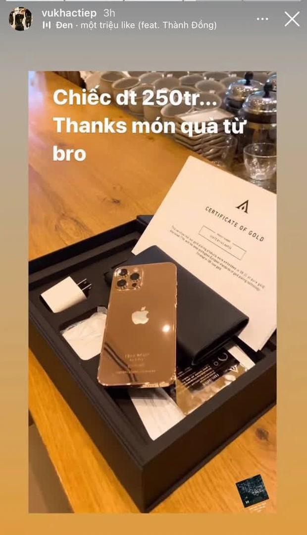 Vũ Khắc Tiệp là một trong 500 người trên thế giới sở hữu iPhone 12 Pro Max mạ vàng 18K, khoe giá thực tế mà choáng! - Ảnh 4.