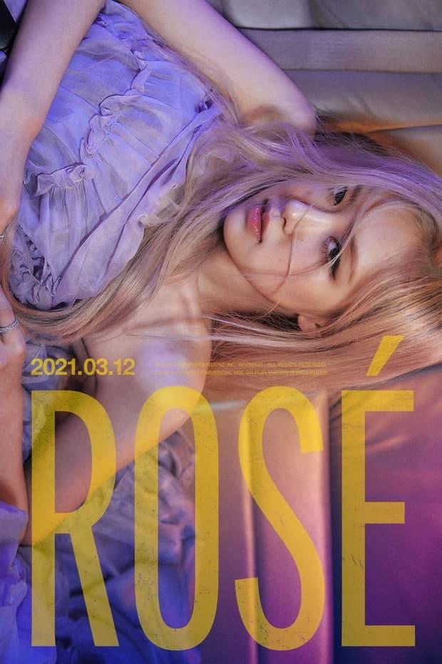Netizen xỉu up xỉu down vì poster của Rosé: visual quá đỉnh nhưng ai cũng bị bắt lú tưởng sẽ solo vào ngày 12/3/2021 - Ảnh 1.