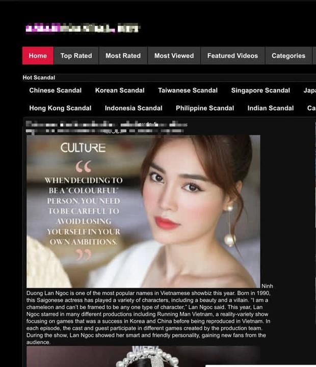 NÓNG: Nghi vấn Ninh Dương Lan Ngọc lộ clip giường chiếu trên trang web đen - Ảnh 3.